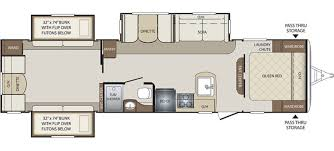 28 fleetwood prowler 5th wheel floor plans 2007 fleetwood