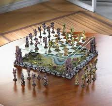 decorative chess set furniture the wonderful design of decorative chess sets with glass