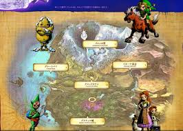 termina map official japanese website for the legend of majora s mask