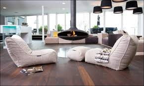 living room bean bags really cool space from the chairs to the floors to the lighting
