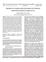 Doc 575709 Simple Vendor Agreement The Impact Of Traning And Development On Technical Competence In