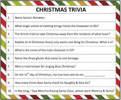 Party Games For Christmas Adults - printable christmas trivia game christmas trivia games trivia