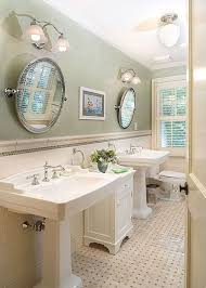 Bathroom Pedestal Sink Ideas Bathroom Exquisite Picture Of Gold And White Bathroom Decoration