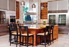 delighful trends in kitchens 2015 with brown cabinets photos of