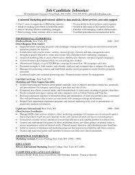 resume for experienced finance professionals being a good parent