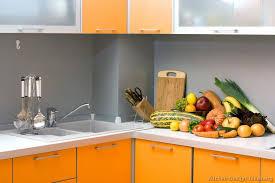 Orange Kitchen Cabinets Pictures Of Kitchens Modern Orange Kitchens Kitchen 2