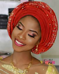 african make and asooke hair styles african aso oke gele headtie headwraps with stones aso ebi