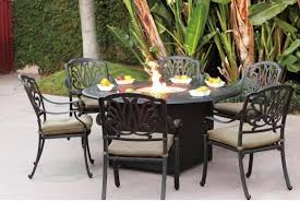 Patio Furniture With Gas Fire Pit by Gas Fire Pit Sets With Chairs Fire Pit Ideas