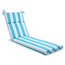 Blue Outdoor Cushions Amazon Com Pillow Perfect Outdoor Cabana Stripe Chaise Lounge