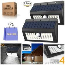 self contained motion detector light choose black or white outdoor pir security sensor traditional