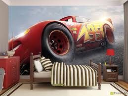 Cars Wall Mural by Children U0027s Wallpaper U0026 Wall Murals The Cars 3 Disney 2