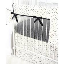 Black And White Crib Bedding Set White Baby Bedding Neutral Crib Bedding Rosenberry Rooms