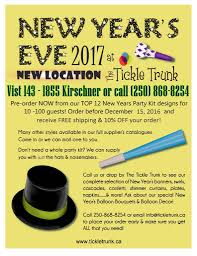 New Year S Eve Decoration Kits by New Years Party Suppiles Favours And Decorations The Tickle