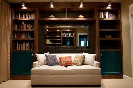 cozy small reading room with leather chair also wood burning