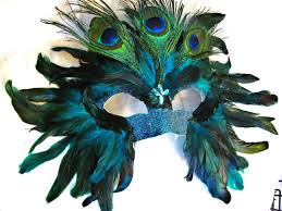 mardi gras mask for sale handmade custom peacock mask on sale feather mask masquerade