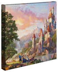 Beauty And The Beast Home Decor Beauty And The Beast Ii U2013 14 U2033 X 14 U2033 Gallery Wrapped Canvas The