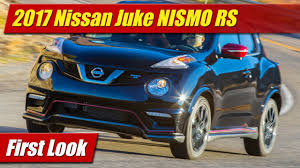 nissan juke exhaust problems first look 2017 nissan juke nismo rs testdriven tv