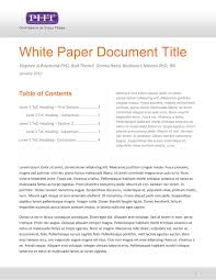 white paper report template 27 images of white paper report template infovia net
