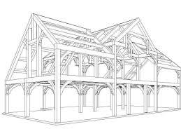 free a frame house plans timber frame barn plans free home improvements