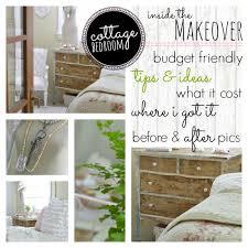 Budget Bedroom Makeover - budget bedroom makeover breakdown fox hollow cottage
