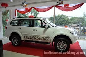 mitsubishi pajero sport anniversary edition comes to chennai
