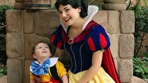 Snow White Toddler Autism Share Tender Moment Today