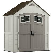 Lowes Outdoor Sheds by Shop Suncast Cascade Gable Storage Shed Common 7 Ft X 4 Ft