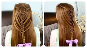 hairstyles for 36 year old waterfall twists into mermaid braid cute girls hairstyles youtube