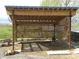 simple firewood storage shed plans here at http woodesigner net