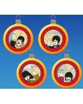 cyber monday sale the beatles ornament yellow submarine