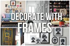 how to decorate with pictures how to decorate with picture frames blissfully domestic