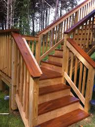 Decking Banister Best 25 Stained Decks Ideas On Pinterest Deck Colors Gray Deck