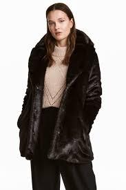 faux fur jacket leopard print la s h m gb