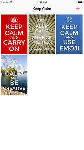 Keep Calm And Carry On Meme Generator - keep calm creator on the app store