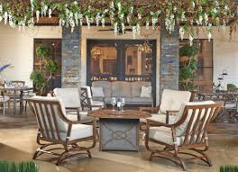 trisha yearwood home collection outdoor fire pit 5 piece deep