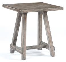 signature design by ashley end table distressed driftwood finish chairside end table by signature design