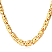 man gold necklace wholesale images Shop gold chain for men gold plated necklace with quot 18k quot stamp men dpg