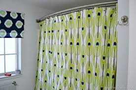 How To Sew Grommet Curtains With Lining Make A Grommet Topped Shower Curtain
