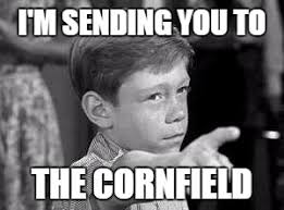 Meme Zone - the twilight zone 1959 meme sending you to the cornfield on bingememe