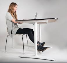 under desk foot exerciser keep your legs from falling asleep with this new office swing