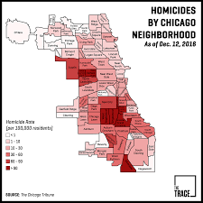 Chicago By Zip Code Map by Is America Experiencing A Murder Outbreak It Depends On Your Block