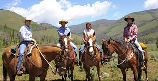 dude ranches colorado dude u0026 guest ranch association family