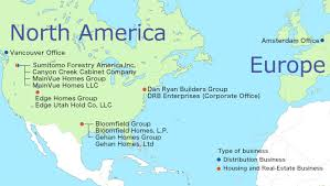 america map utah america our business sumitomo forestry co ltd