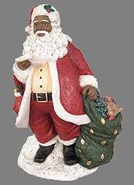 26 best black santa decorations images on