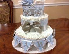 Diaper Cake Centerpieces by Mini Diaper Cake Centerpieces Baby Boy Baby Shower Party It Up