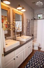 36 best farmhouse bathroom design and decor ideas for 2017 diy concrete farmhouse bathroom countertop