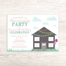 housewarming invite fun housewarming birthday invitation