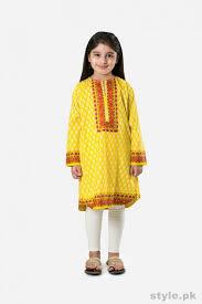 khaadi casual dresses 2015 for kids