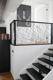 Indoor Handrails For Stairs Contemporary Best 25 Modern Stair Railing Ideas On Pinterest Modern Railing