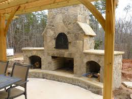 Fireplace Storage by Charlotte Outdoor Fire Pits Charlotte Outdoor Fireplace
